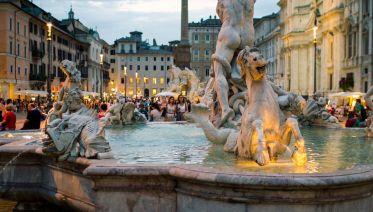 Rome Twilight City Stroll And Gelato-Tasting