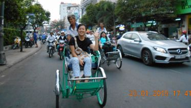 Saigon By Night With Cyclo And Dinner On Cruise