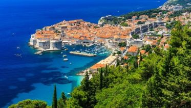 Sail Split to Dubrovnik Above Deck