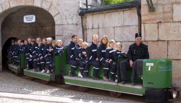 Salt mines tour salzburg - tour 3a