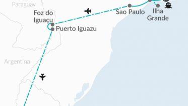 Samba & Tango Air-Expedition 14D/13N (from Rio de Janeiro)