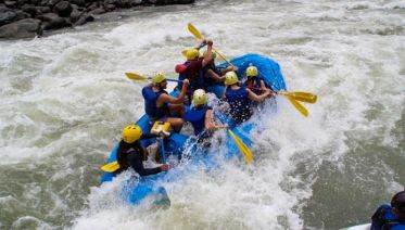 San Jose White Water Rafting Experience