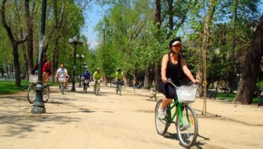 Santiago Bike City Trip