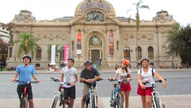 Santiago Cultural Bike Tour