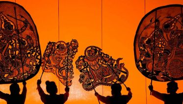 Shadow Puppet Making + Rolous Temple Tour from Siem Reap