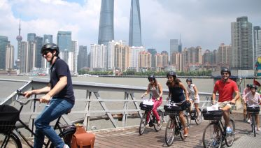 Shanghai Morning Bike Tour