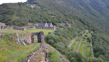 Short Route to Choquequirao Trek
