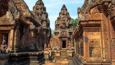 Siem Reap, Banteay Srey, Beng Melea and Kbal Spean Tour
