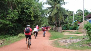 Siem Reap Countryside by Bike