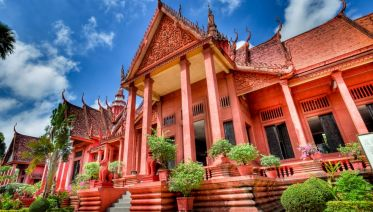 Silver Pagoda, Royal Palace, Toul Sleng From Phnom Penh