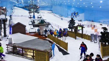 Skip-the-line: Ski Dubai Tickets