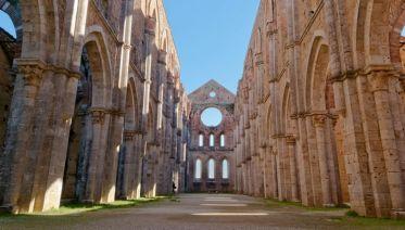 Small Group San Galgano Half-Day Tour From Siena