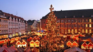 Small Group tour to Christmasmarket Düsseldorf from AMS