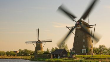 Small Group Trip to Kinderdijk & The Hague + Canal Cruise