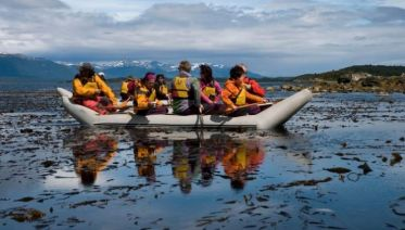 Small Group Ushuaia National Park with Trekking & Canoes Tour
