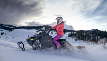 Snowmobile Safari In Rovaniemi, Lapland