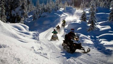 Snowmobile Safari in Rovaniemi, Lapland