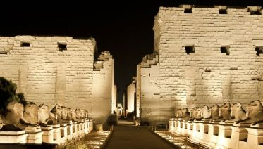 Sounds And Lights Show At Karnak Temple