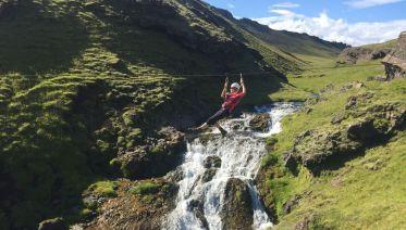 South Iceland & Zipline Adventure