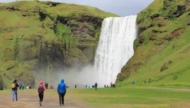 South Iceland, Waterfalls and Black Beach