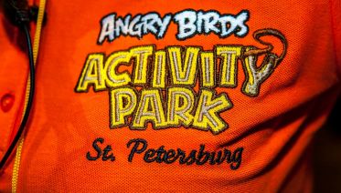 St Petersburg Angry Birds Family Activity Park
