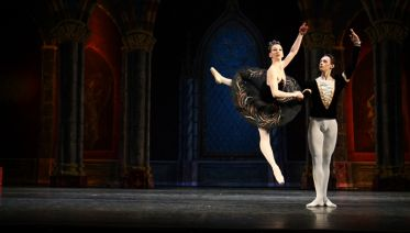 St Petersburg: Swan Lake Ballet At The Hermitage Theater