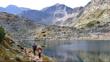 Summits and lakes of the Rila and Pirin mountains