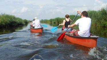Sunset Canoe Safari in the Wetlands
