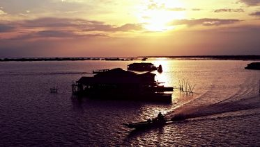 Sunset Tour On Tonle Sap Lake