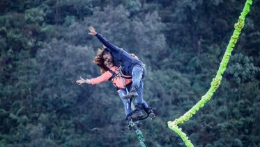 Tandem Bungee Jumping in Pokhara