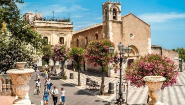 Taormina Walking Tour & Greek Theatre Visit