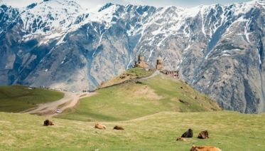 Tbilisi to Kazbegi with Trekking in Juta