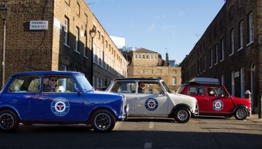 The Italian Job Experience in a classic Mini