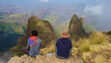 The Simien Mountains Trek: Timkat Festival