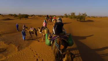 The trans-Saharan caravan Adventure