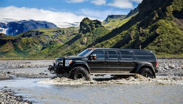 Thorsmork/Valley of Thor Super Jeep Tour