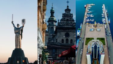 Three Cities Of Ukraine: Kiev, Lviv & Odessa