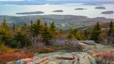 Fall Colours Of New England USA