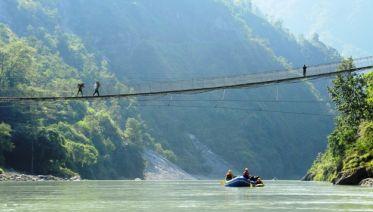 Trisuli River Rafting - Kathmandu to Pokhara