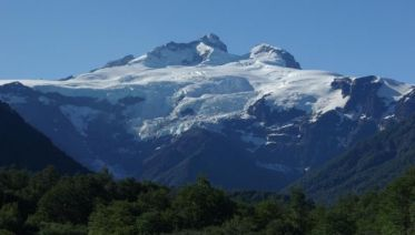 Tronador Hill from Bariloche