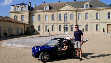 Two days wine tour in a convertible buggy