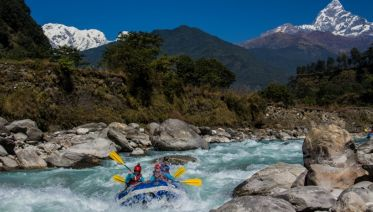 Upper Seti River Rafting - Best Pokhara Day Trip