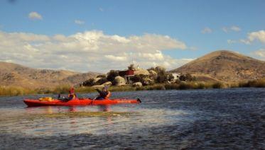 Uros Kayaking & Taquile Island Day Tour