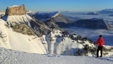 Vercors Massif Winter Walking