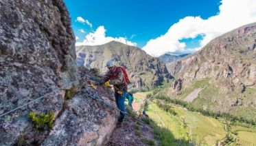 Via Ferrata & Zipline - Lunch at sky capsule from Cusco