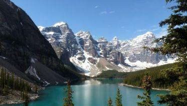 Walking in the Canadian Rockies