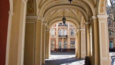 Walking tour in Odessa yards
