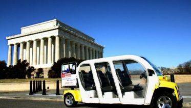 Washington Mall & Monuments by Electric Car