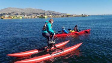 Water Bike at Lake Titicaca
