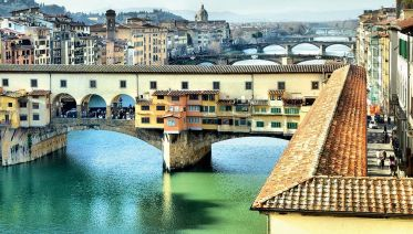Welcome to Florence Walking Tour with Aperitif